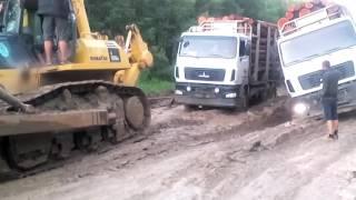 Дорога Епишино - Северо Енисейск-2 2016 07 07