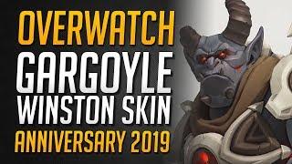 Overwatch Gargoyle Winston Skin   Overwatch Anniversary 2019 Event • Overwatch Deutsch