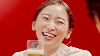 江口洋介のおすすめに杏も「大好きです!」と至福の表情/サントリー「本麒麟」新CM『わたしの一番うまい!杏さん』篇