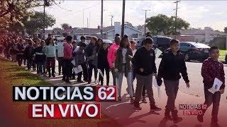 Escuela primaria en Gardena realizo marcha para promover la paz.  - Noticias 62. - Thumbnail