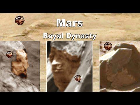 Koninklijke beelden op Mars