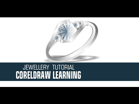 How To Design Silver Ring In Coreldraw