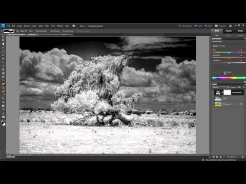 Infrared IR Photography Photoshop Video Tutorial How to Guide