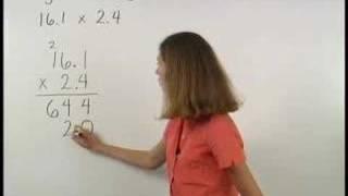 Multiplying Decimals - MathHelp.com - Pre Algebra Help