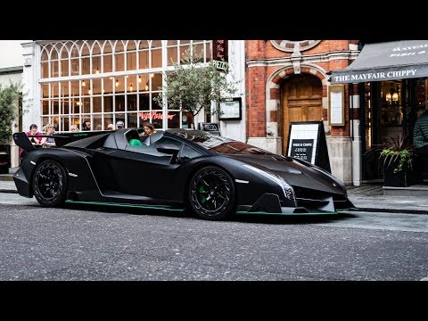 BILLIONAIRE Saudi Prince brings 6 Hypercars to London!!