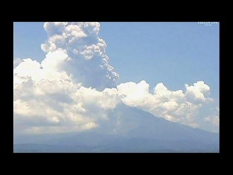 Μεξικό: Συνεχίζει να «βρυχάται» το ηφαίστειο Κολίμα