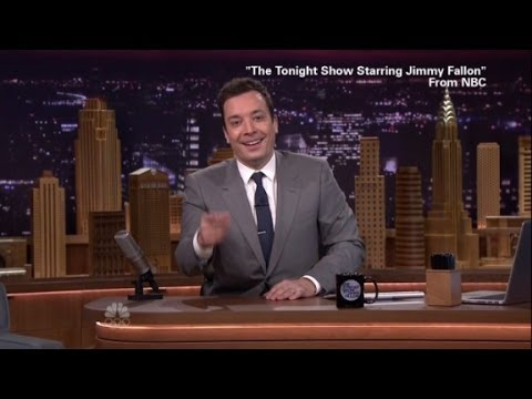 Jimmy Fallon's First Night On The Tonight Show