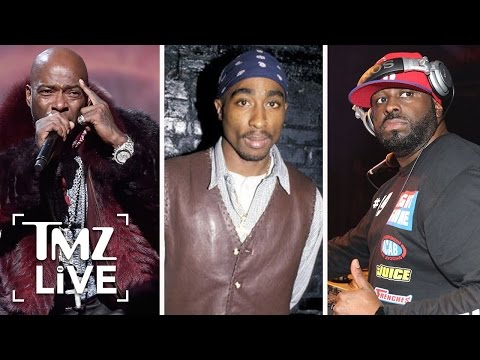 New Hip-Hop Feud Over Tupac | TMZ Live
