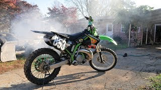 4. I bought my First Bike! 1000$ KX 250 2 stroke Is it clapped?