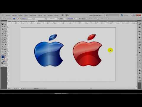 "Tutorial Adobe Illustrator CS5 ""crear Logo Apple Glowing Desde Cero"""