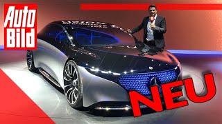 Mercedes Vision EQS (2019): IAA - Neuvorstellung - Info - Elektro by Auto Bild