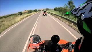 8. 2 Kawasaki kfx 700 Highway High speed