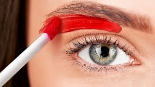 Video 26 CRAZY MAKEUP HACKS MP3, 3GP, MP4, WEBM, AVI, FLV Maret 2019