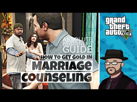 How to get Gold in GTA 5 Marriage Counselling | GTA5 Mission 7 Marriage Counselling Tutorial