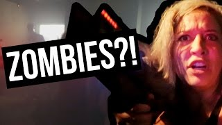 ZOMBIE LASER TAG (Lunchy Break) by Clevver Style