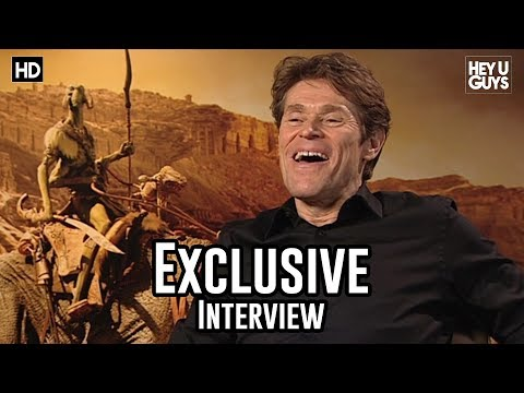 Willem Dafoe - John Cater Exclusive Interview
