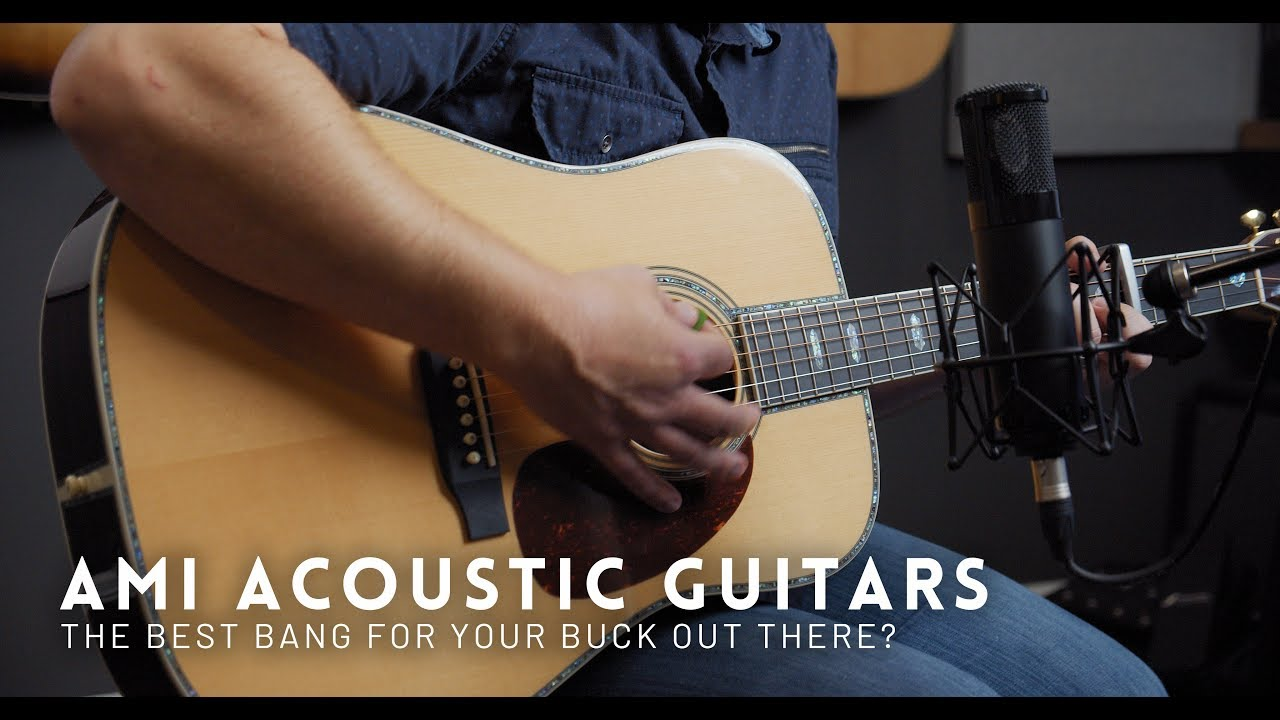 Are these the best bang for your buck acoustic guitars? | AMI Acoustic Guitars Review