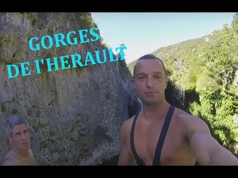 CANYONING - GORGES DE L'HERAULT - CANYON DU DIABLE - GO PRO