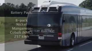 Video xe buýt điện đi được 415 km trong một lần sạc
