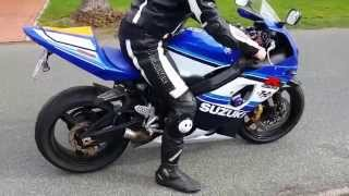 7. Suzuki GSX-R 750 K5 Sound without Muffler, flyby