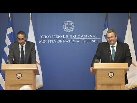 Χαιρετίζουν την απόφαση της Συνόδου Κορυφής, οι ΥΠΑΜ Κύπρου και Ελλάδας