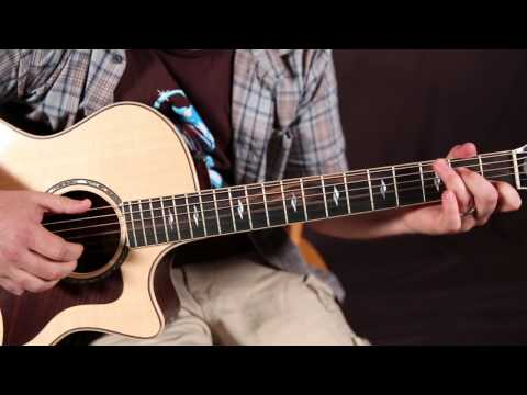 Beginner Finger Picking Guitar Exercise   Easy Fingerstyle Acoustic Guitar Lessons