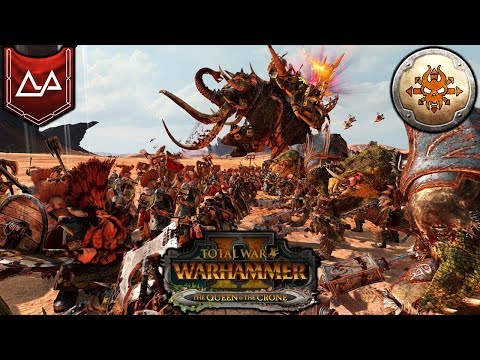 MAMMOTH SLAYER - Karak Kadrin Dwarfs vs. Norsca - Total War Warhammer 2 Gameplay