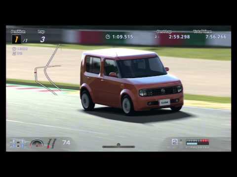 2:58.493 - Nissan Cube EX (FF/CVT) '02 (видео)