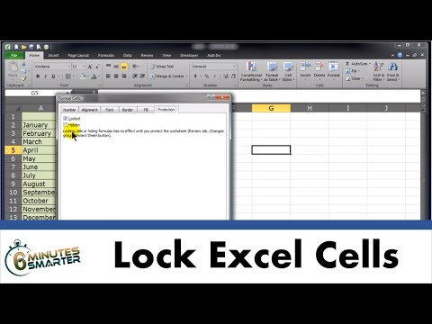 Lock Cells and Protect Sheets in Excel