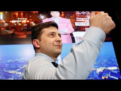 Ουκρανία: Μάχη Ζελένσκι- Ποροσένκο στον δεύτερο γύρο