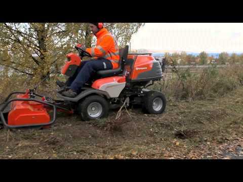 Цеповая косилка HUSQVARNA 9535284-01 для PF 21 AWD до 2008 г.в. - видео №3