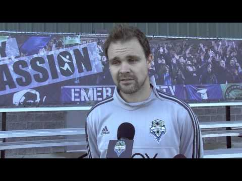Video: Interview: Chad Marshall on His Second Season in Seattle