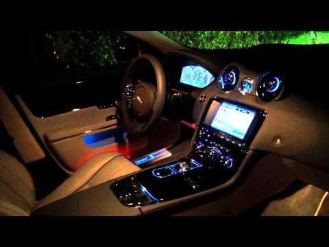 2015 Jaguar XJL Portfolio AWD Interior Lighting System (видео)