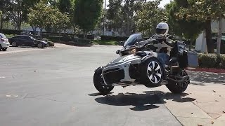 9. Police-Edition Can-Am Spyder!