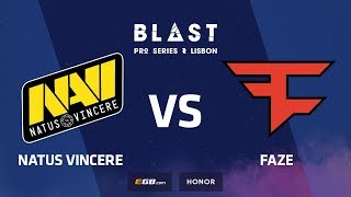Natus Vincere vs FaZe, inferno, BLAST Pro Series Lisbon 2018