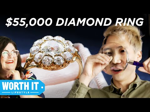 $1,065 Engagement Ring Vs. $55,000 Engagement Ring