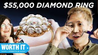 Video $1,065 Engagement Ring Vs. $55,000 Engagement Ring MP3, 3GP, MP4, WEBM, AVI, FLV Juli 2019