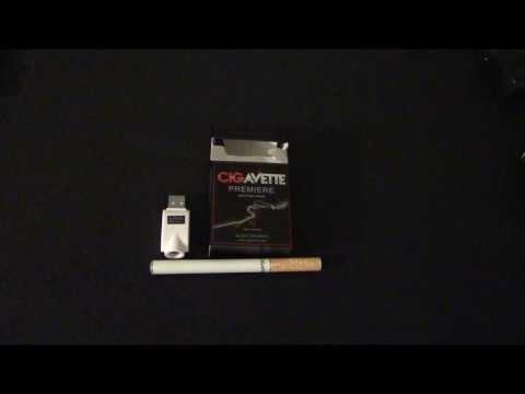 Cigavette Premiere Full Flavor Starter Kit 18mg Tobacco Flavor