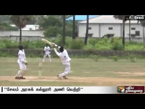 Zonal-level-cricket-tournament-held-in-Salem