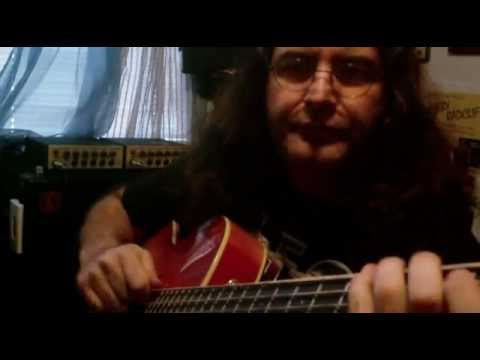 CHRIS MATHEOS slap bass lesson 'Rockabilly' 2013