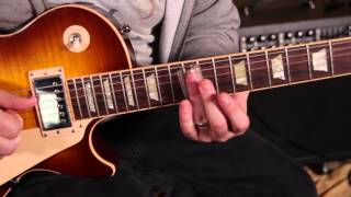 Joe Walsh Inspired Guitar Lesson - Rocky Mountain Way Style Blues Rock and Slide