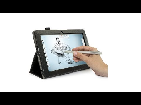 Review Simbans Picasso Tab 10 inch drawing tablet with Stylus Pen 1829