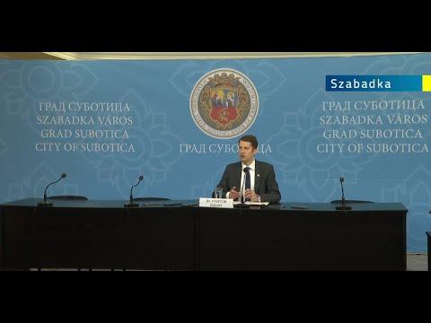 A bunyevác nyelv, Szabadka belvárosa és a Dr. Bodrogvári Ferenc-díj a szabadkai VKT napirendjén-cover