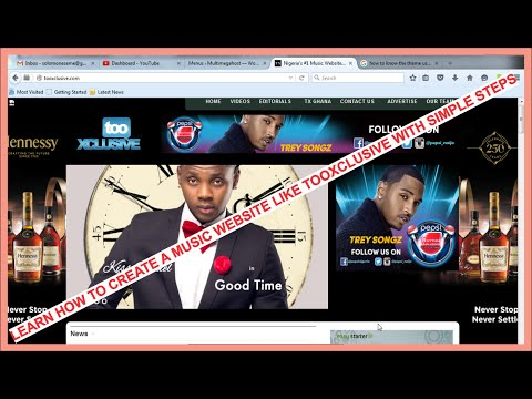 Create Tooxclusive Website -1 - Introduction