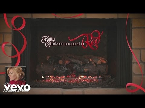 """Kelly Clarkson - Blue Christmas (Kelly's """"Wrapped In Red"""" Yule Log Series)"""