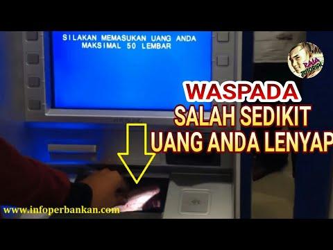 CARA SETOR TUNAI ATAU MENABUNG DI ATM BRI