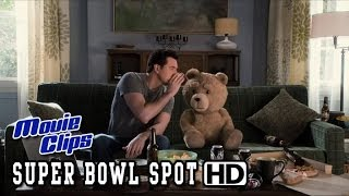 """A Million Ways To Die In The West Super Bowl SPOT - """"TED"""" (2014) HD"""