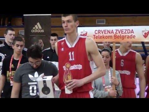 ANGT Belgrade MVP: Borisa Simanic, Crvena Zvezda Telekom Belgrade