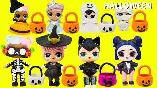 Video LOL Surprise HALLOWEEN Trick or Treat Halloween Slime, Halloween Costumes ALL THINGS HALLOWEEN MP3, 3GP, MP4, WEBM, AVI, FLV Desember 2018