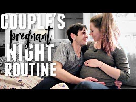 COUPLE'S NIGHT ROUTINE 2019   Pregnant Edition!